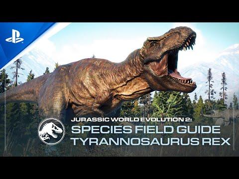 Jurassic World Evolution 2 - Species Field Guide: T-Rex   PS5, PS4