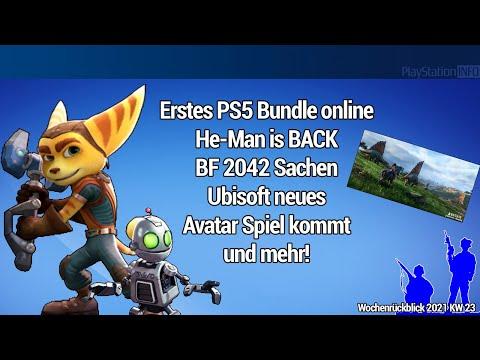 Erstes PS5 Bundle online - He Man is BACK - BF 2042 Sachen - Ubisoft neues Avatar Spiel kommt