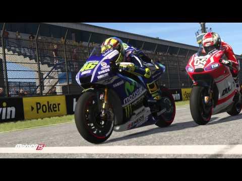 MotoGP™15 - On screen Jerez, Mugello and Valencia circuits