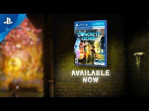 Concrete Genie - Accolades Trailer | PS4