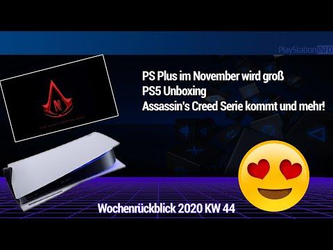 PS Plus im November wird groß - PS5 Unboxing - AC Serie kommt und mehr!