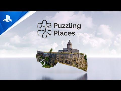 Puzzling Places - Announcement Trailer   PS VR