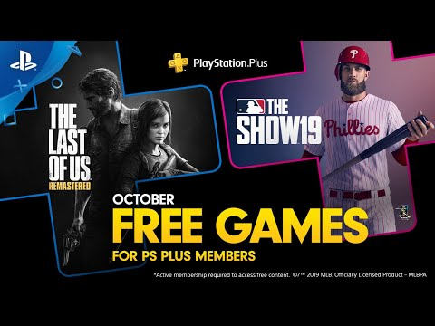 PlayStation Plus - Free Games Lineup October 2019   PS4