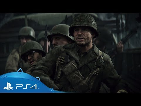 Call of Duty: WWII   Story Trailer   PS4