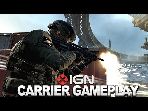 Black Ops 2 - Carrier Multiplayer Gameplay