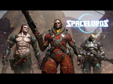 Spacelords - Gamescom 2016 Character Teaser