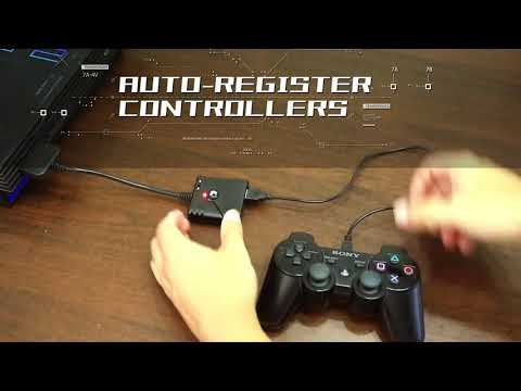 【Super Converter】Switch Pro/Xbox One/PS3/PS4 to PS Classic/PS2 Super Converter