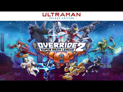 Override 2: Super Mech League – ULTRAMAN Deluxe Edition Ankündigung