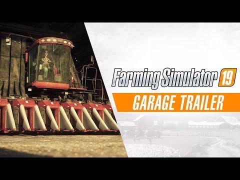 Landwirtschafts Simulator 19: Garage Trailer
