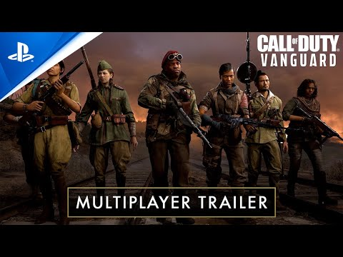 Call of Duty®: Vanguard – Multiplayer Reveal Trailer   PS5, PS4
