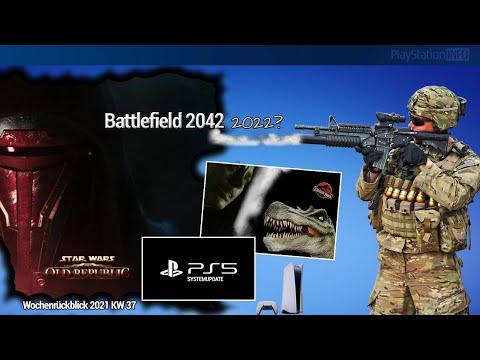 Jurassic Park Survival Horror Spiel - Battlefield 2042 - PlayStation 5 SSD Update