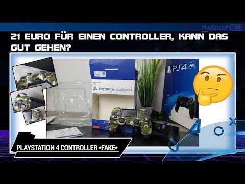 PlayStation 4 - Fake Controller getestet ☢😞