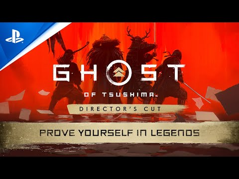 Ghost of Tsushima Legends - Prove Yourself in Rivals Trailer   PS5, PS4