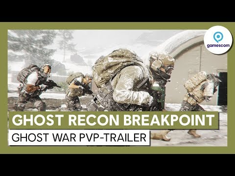 Ghost Recon Breakpoint: Ghost War PvP-Trailer | Ubisoft [DE]