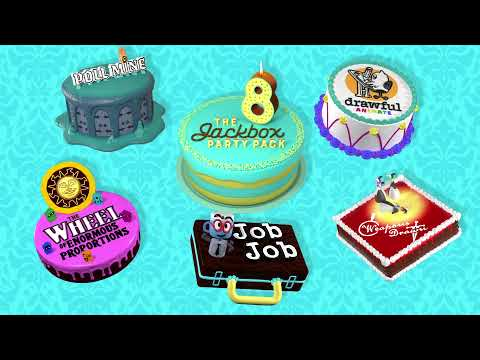 The Jackbox Party Pack 8 Official Trailer