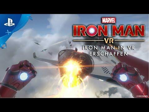 Marvel's Iron Man VR – Iron Man in VR erschaffen (Hinter den Kulissen) | PS VR, deutsch