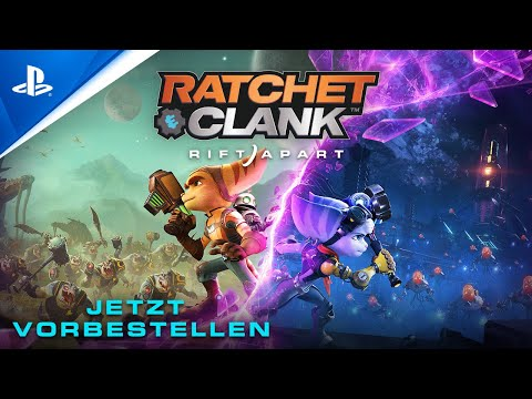 Ratchet & Clank: Rift Apart – Jetzt vorbestellen I PS5, deutsch