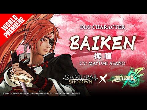【EU】BAIKEN SAMURAI SHODOWN × GUILTY GEAR –DLC Character