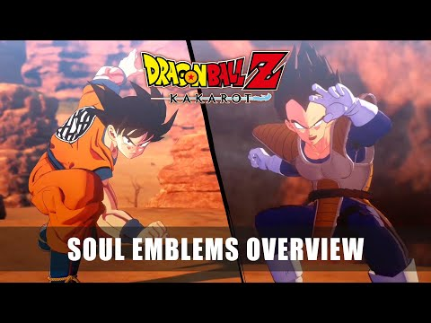 DRAGON BALL Z: KAKAROT – Soul Emblems Overview