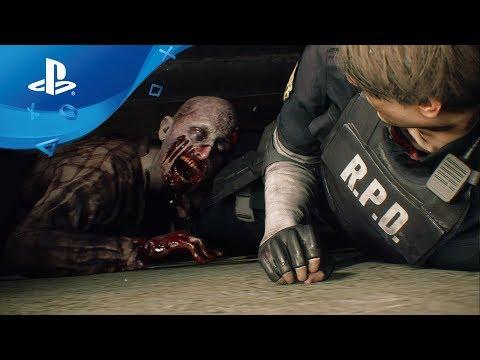 Resident Evil 2 Remake - Gameplay Trailer [PS4] E3 2018