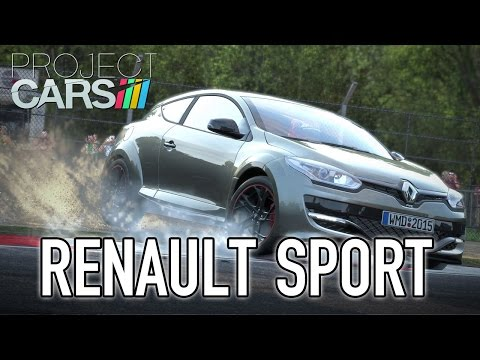 Project CARS - PS4/XB1/WiiU/PC - Renault Sport (trailer)