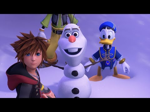 KINGDOM HEARTS III – E3 2018 Frozen Trailer