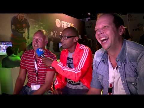 FIFA 16 - Wolff und Buschi auf der gamescom