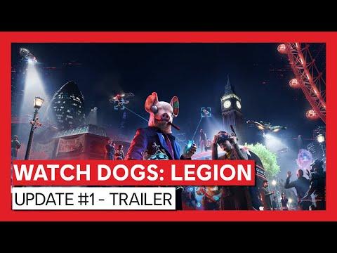WATCH DOGS: LEGION: Update #1 - Trailer   Ubisoft [DE]
