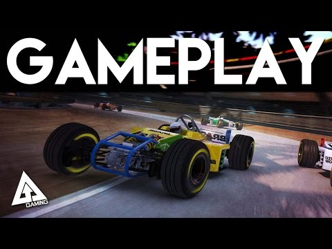 Trackmania Turbo Gameplay | Gamescom 2015