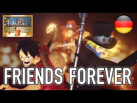 One Piece Pirate Warriors 3 - PS4/PS3/PS VITA/Steam - Friends forever (German Trailer)
