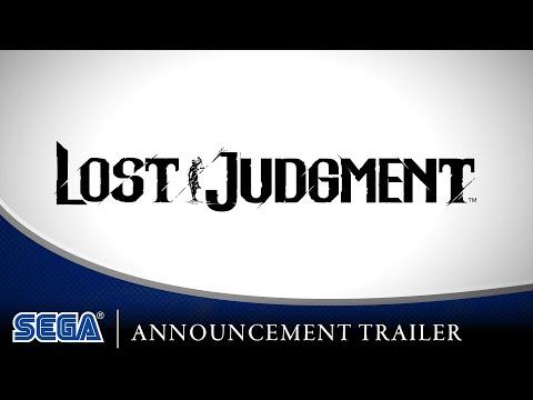Lost Judgment | Announcement Trailer [DE USK]