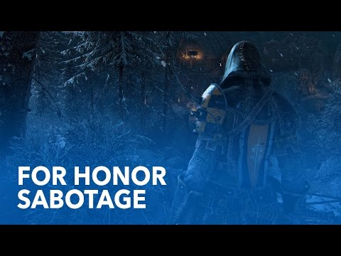 """FOR HONOR - """"Sabotage"""" Single-Player Gameplay // 1080p"""