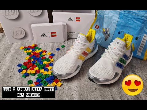 LEGO x adidas Ultra Boost DNA Sneaker - On Feet and Check -TOP 98% 🔥