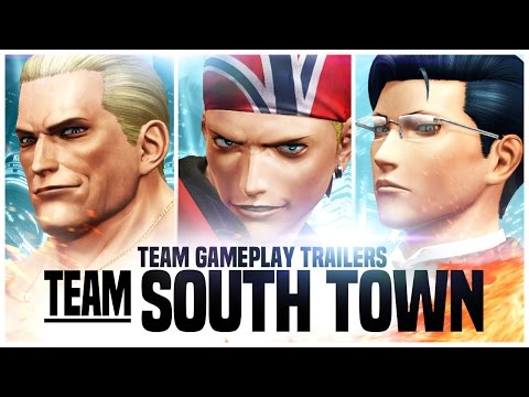 THE KING OF FIGHTERS XIV | Team South Town Trailer | PS4