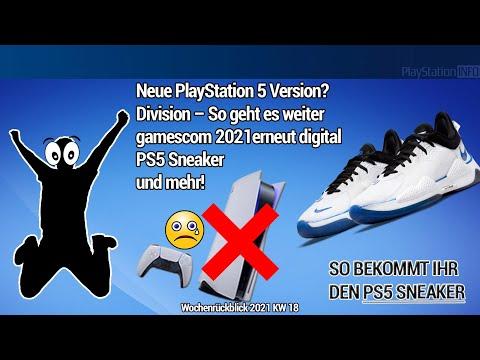 Neue PlayStation 5 Version? So geht es mit Division weiter! GC 2021erneut digital und PS5 Sneaker