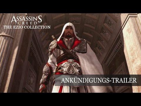 Assassin's Creed The Ezio Collection - Ankündigungs-Trailer [DE]