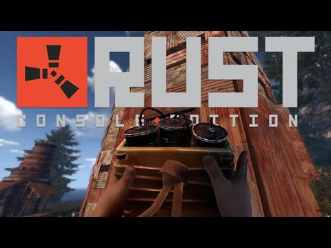 Rust Console Edition (PS4 Pro) - 17 minutes of Gameplay
