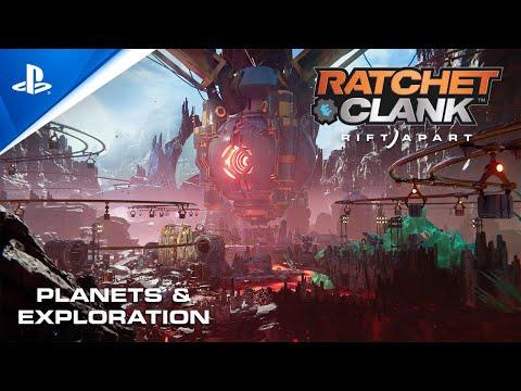 Ratchet & Clank: Rift Apart - Planeten & Erkundung   PS5