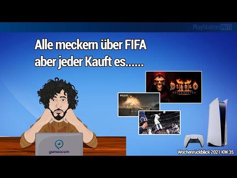 Nix interessantes auf der gamescom 2021 - Battlefield 2042 Infos und FIFA 22 Gameplay