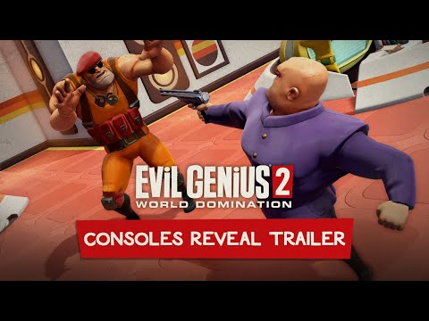 Evil Genius 2: World Domination – Consoles Reveal Trailer | PS4, PS5, Xbox One, Xbox Series X/S