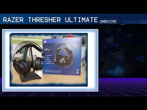 Razer Thresher Ultimate UNBOXING & ERSTEINDRUCK Das PS4 7.1 Surround Headset?
