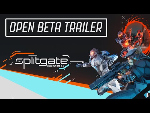 Splitgate Open Beta Trailer | PlayStation, Xbox, and PC July 13th with Cross-Play!