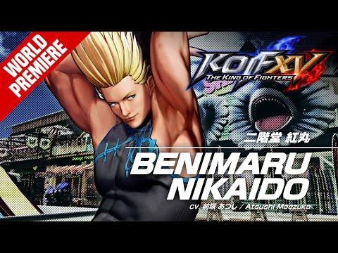 KOF XV BENIMARU NIKAIDO Character Trailer #3 (4K) 【TEAM HERO】