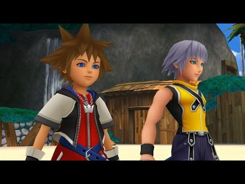 7 Minutes of Kingdom Hearts Dream Drop Distance Remastered