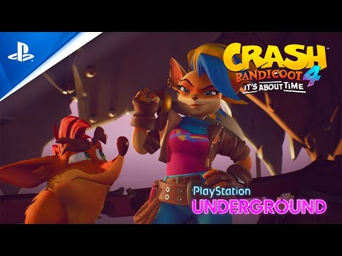 Crash Bandicoot 4 – Tawna Gameplay Reveal | PlayStation Underground