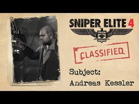 """Sniper Elite 4 - """"Andreas Kessler"""" Story Trailer"""