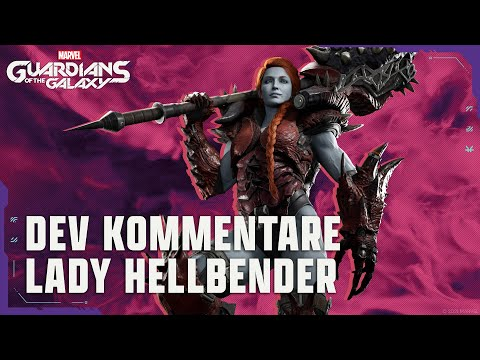 Marvel's Guardians of the Galaxy – Cinematic mit Dev Kommentar zu Lady Hellbender