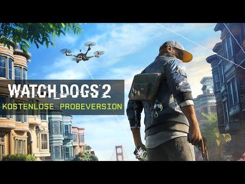 Watch Dogs 2: Trailer für die kostenlose Probeversion   Ubisoft [DE]