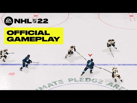 NHL 22 Overhead Gameplay for 27 Minutes Straight