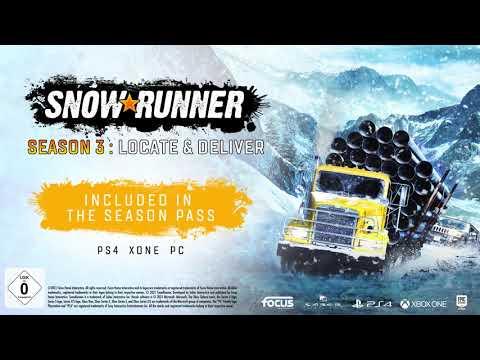 SnowRunner - Season 3: Locate & Deliver - Release-Trailer